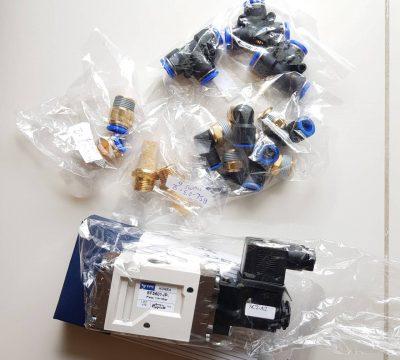ส่งของเป็นชุดให้ลูกค้า YPC Solenoid valve+ Fittings
