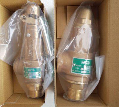 ส่ง Safety relief valve A3W , A3WL ให้ลูกค้า