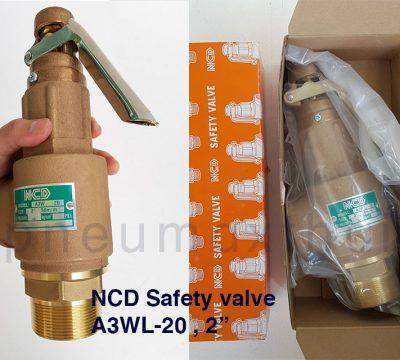ส่ง Safety valve ขนาด 2″ (Size ใหญ่สุด) ให้ลูกค้า