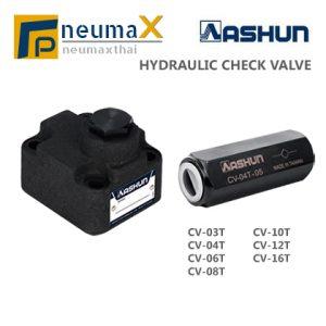 ASHUN-CV Series ไฮดรอลิคเช็ควาล์วยี่ห้อ ASHUN (Hydraulic Check Valves)