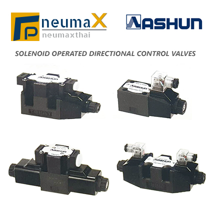 ASHUN-Solenoid Operated Directional Control Valves