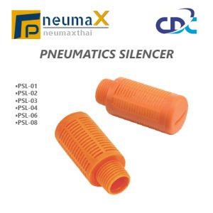 CDC PSL ตัวเก็บเสียง วัสดุพลาสติก (Plastic Silencers)