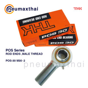 THK POS Series ลูกปืนตาเหลือก ตัวผู้(เกลียวนอก)-Rod Ends Bearing
