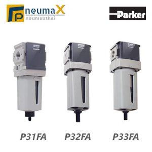 Parker Air Filter กรองลม ยี่ห้อ Parker P31F, P32F, P33F Series