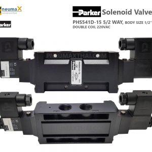 Parker Solenoid Valve, PHS Series โซลินอยด์วาล์ว ยี่ห้อ Parker
