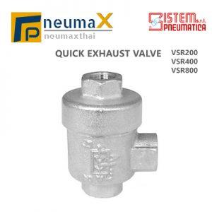SISTEM PNEUMATICA วาล์วเร่งระบายลม VSR Series (Quick Exhaust valve)
