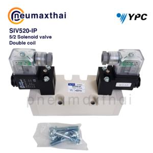 YPC SIV Series โซลินอยด์วาล์ว Sub-Base Mounting  แบบ 5/2 , 5/3 ทาง