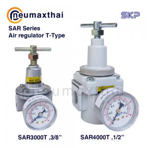 SKP รุ่น SAR T-Type ตัวควบคุมแรงดันลม(Air Regulator T-Type)