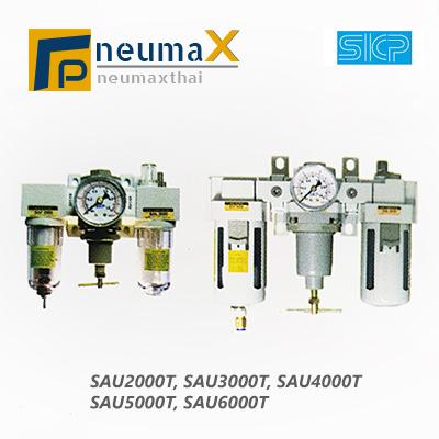 SKP-SAU2000T Series ชุดปรับปรุงคุณภาพลม -T Handle (Manual drain / Auto drain) – F.R.L Unit