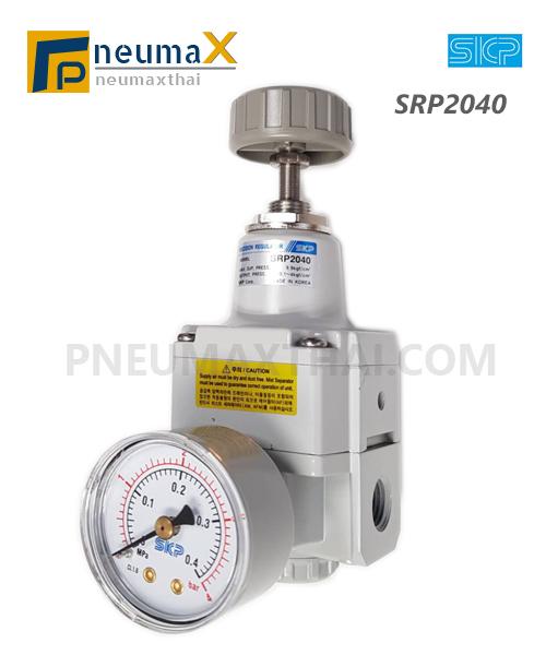 SKP รุ่น SRP ตัวปรับแรงดันลมชนิดปรับละเอียด (Precision Regulator)