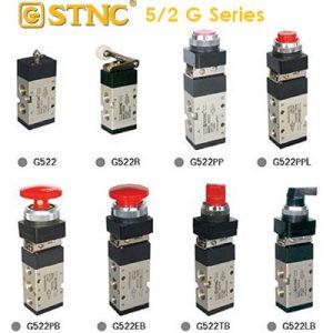 STNC G522 Series  แมคคานิควาล์ว  5/2 ทาง (Manually & Mechanically valve)