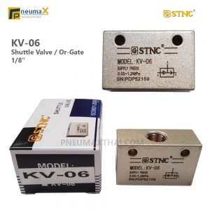 OR Gate-Shuttle Valve ยี่ห้อ STNC รุ่น KV Series