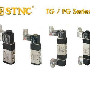 STNC 5/2, 5/3, 3/2 โซลินอยด์วาล์ว TG-FG Series – Solenoid Valve