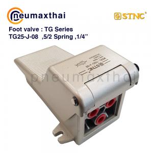 STNC Foot Valve TG Series-ฟุตวาล์ว-วาล์วเท้าเหยียบ (3/2, 4/2, 5/2 ทาง)