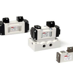 YPC SIP Series – วาล์วลม Air valve   5/2 , 5/3 ,3/2 ทาง